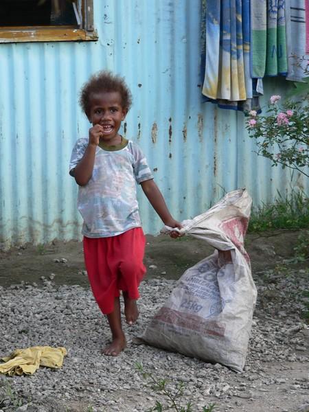 Mele village child