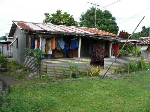 Mele village house.